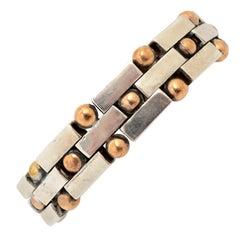 William Spratling Copper Silver Bracelet