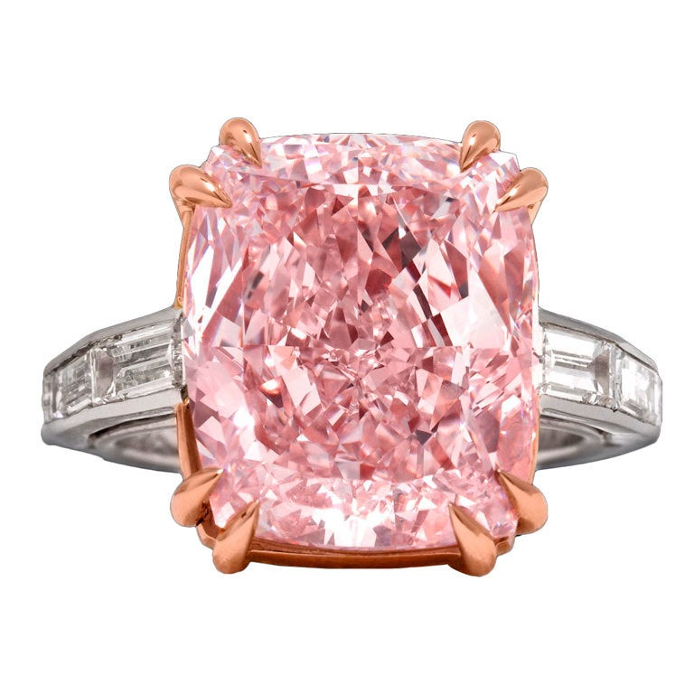 Majestic Pink Diamond Ring At 1stdibs