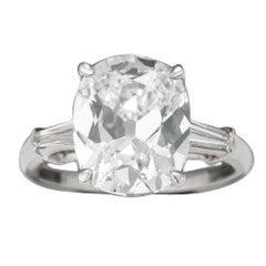 Magnificent 5.04 Carat Golconda Diamond Ring