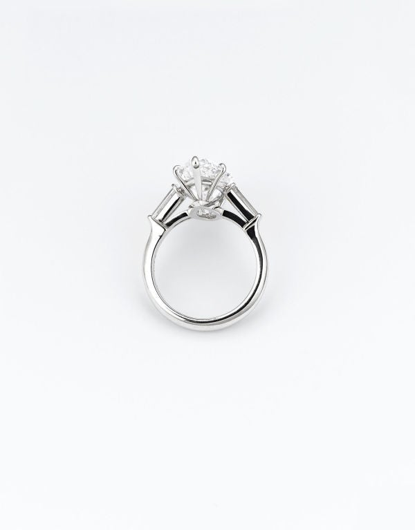 Marquise-Cut Golconda Diamond Ring 8.03 Carats In Excellent Condition In New Orleans, LA