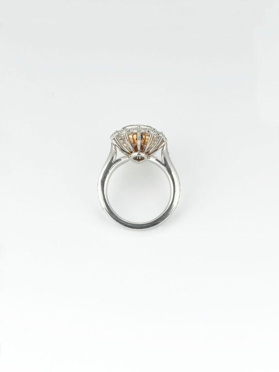 2.58 Carat Fancy Pink Diamond Ring  3