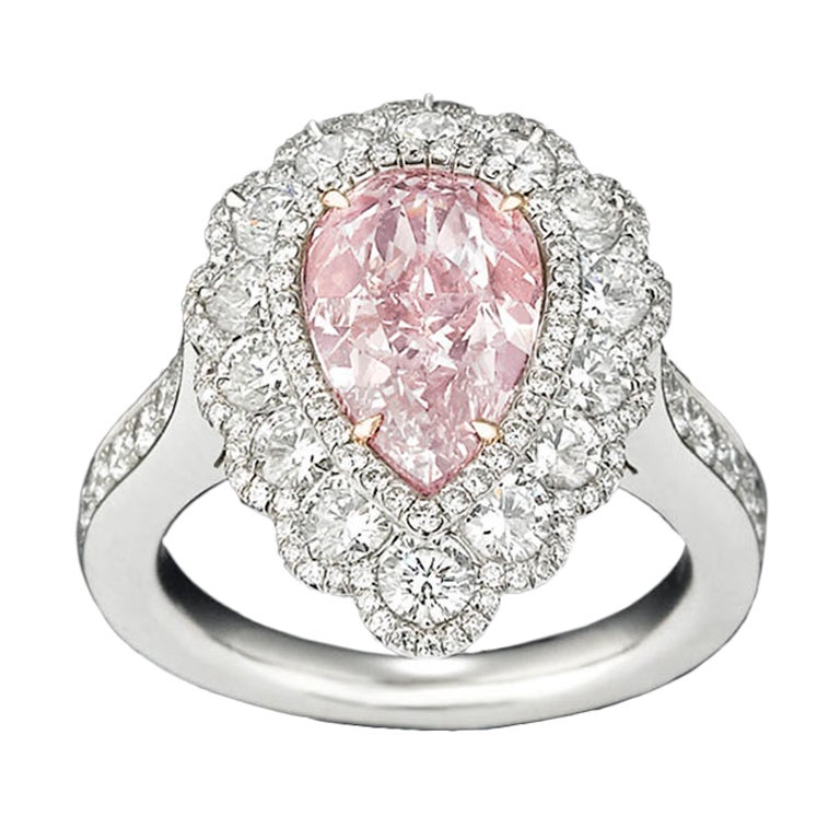 How Much Is A Pink Sapphire And Diamond Ring Worth
