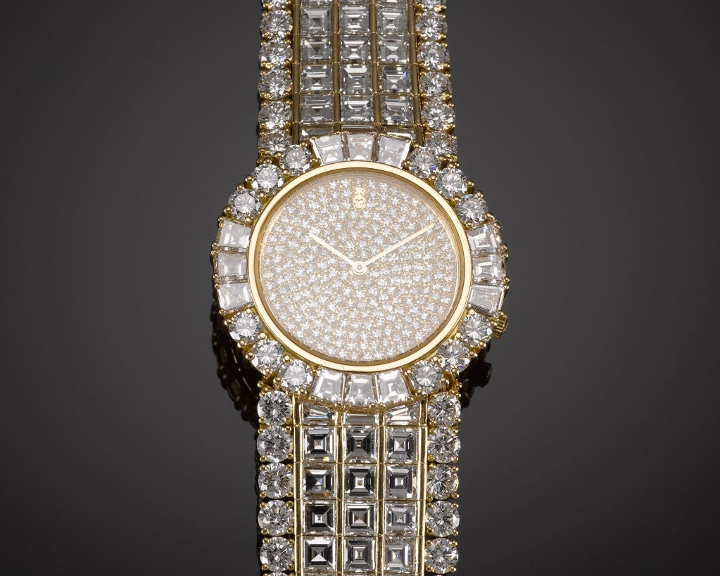 Corum Ladies Yellow Gold Diamond Quartz Wristwatch 4