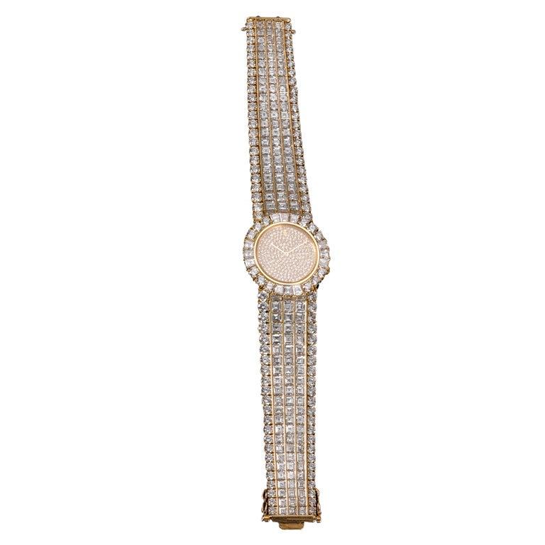 Corum Ladies Yellow Gold Diamond Quartz Wristwatch 2