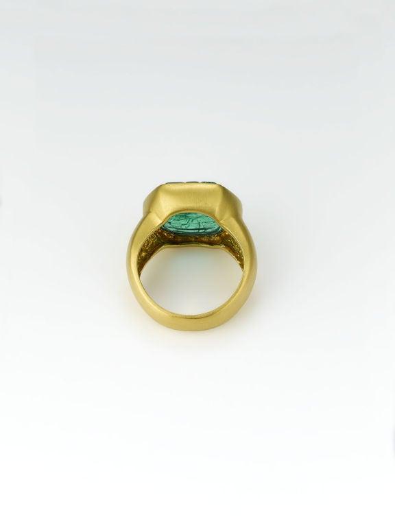 Mogul Emerald Ring 2