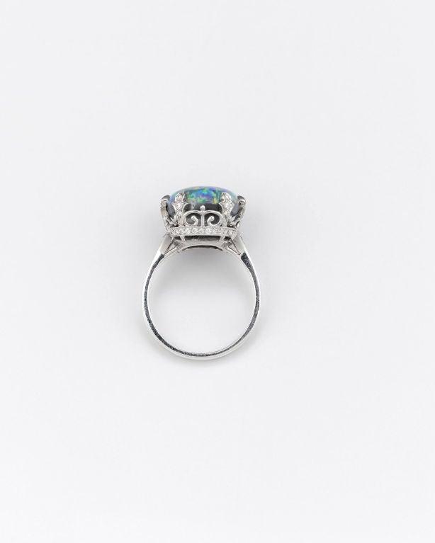 Tiffany & Co. Black Opal Ring 3