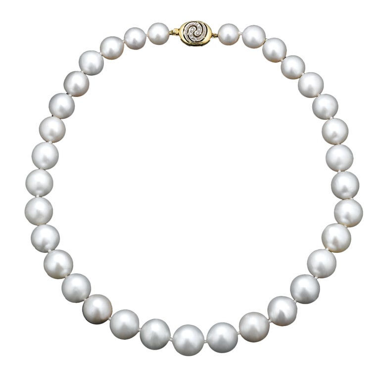 Pearl Necklace Clip Art South sea pearl necklace