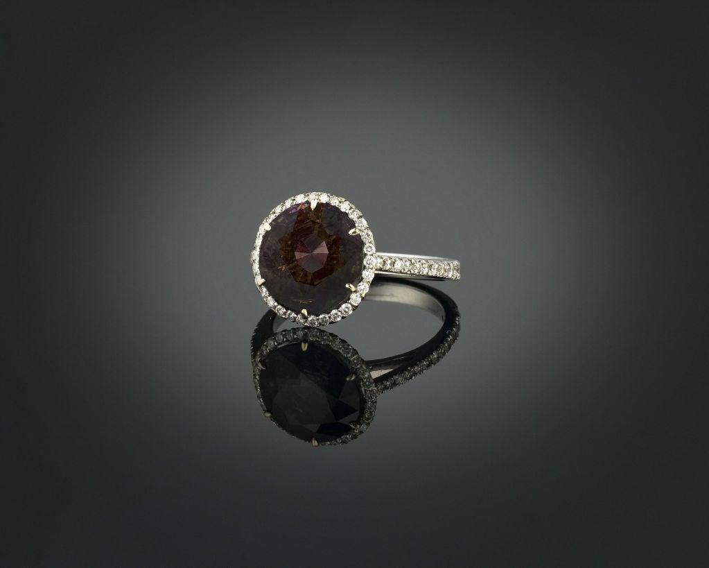 Alexandrite & Diamond Ring, 5.50 carats 2
