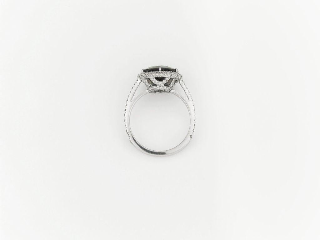 Alexandrite & Diamond Ring, 5.50 carats 3