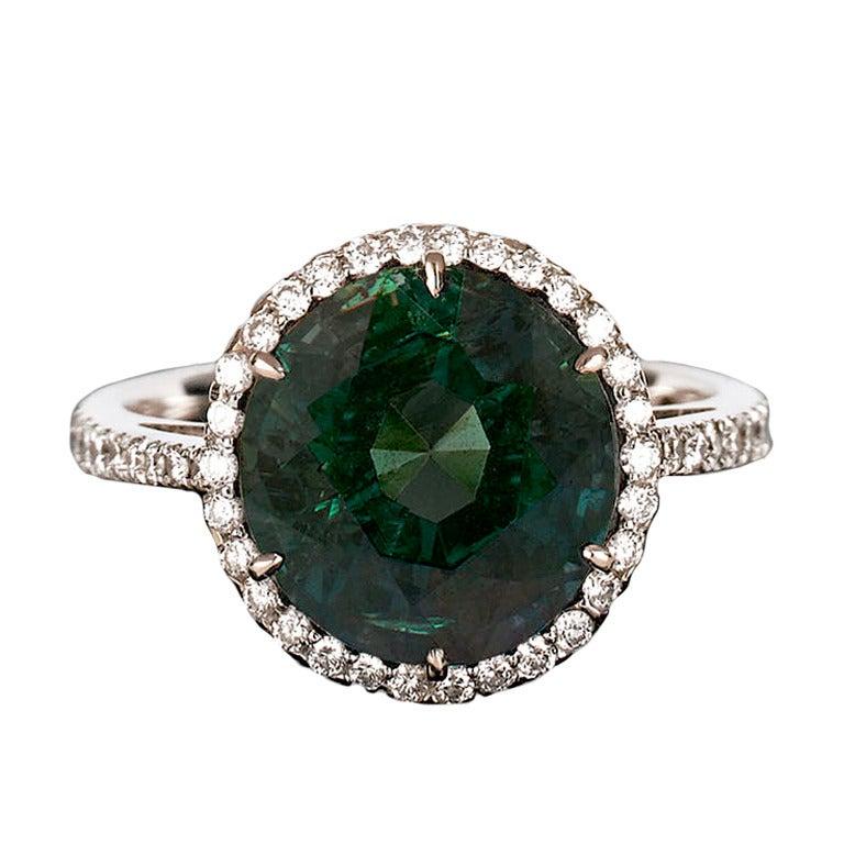 Alexandrite & Diamond Ring, 5.50 carats 1