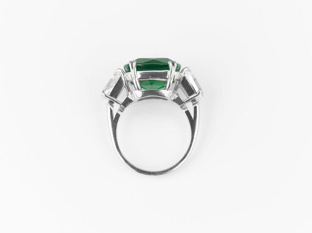 Zambian Emerald & Diamond Ring 2