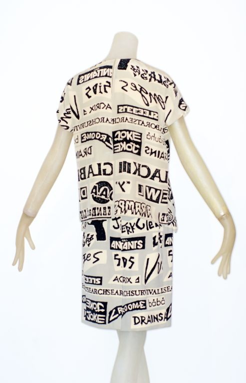 Stephen Sprouse Sticker Print Ensemble image 4
