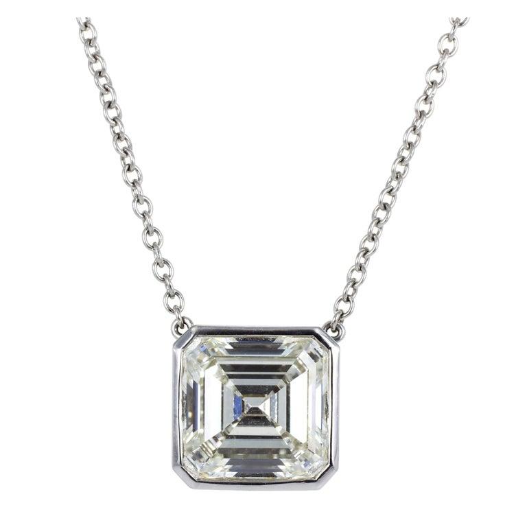 Cartier 6.32ct Diamond Pendant 1