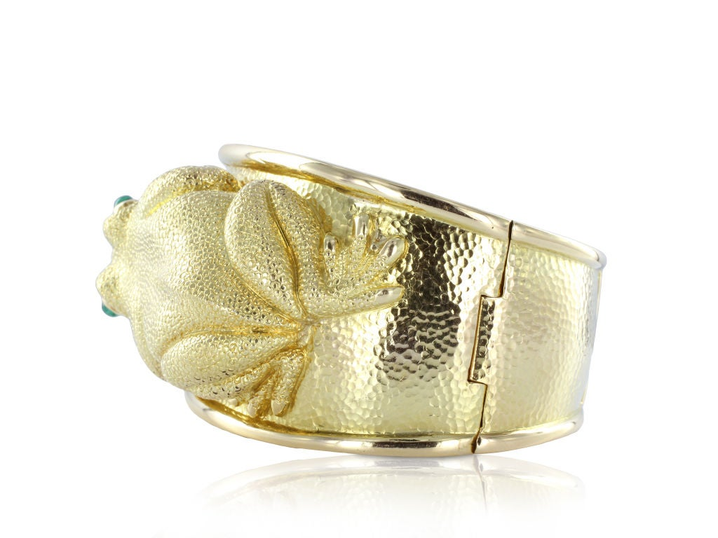 Vintage david webb frog bracelet at 1stdibs for Same day jewelry repair