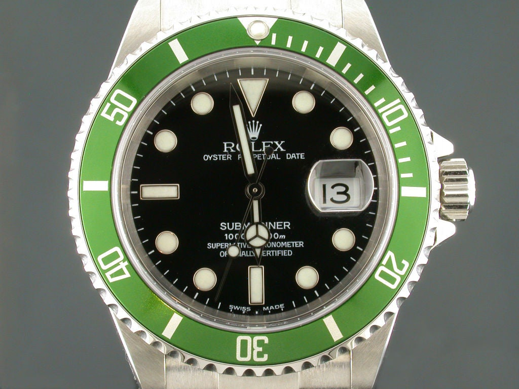 ROLEX 50th Anniversary Edition Submariner at 1stdibs