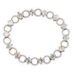 Fred Celeste Diamond  Necklace