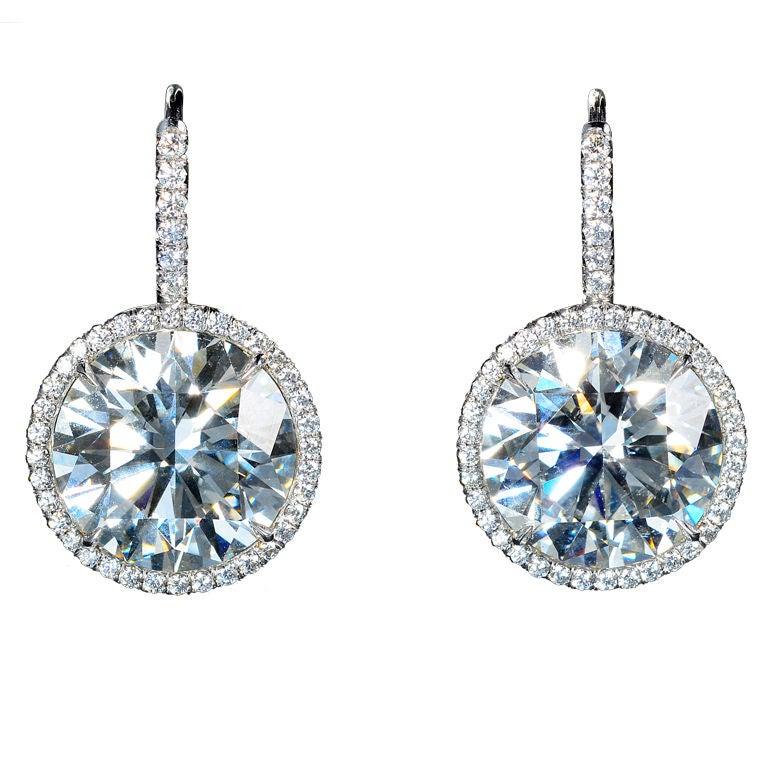 single stone diamond drop earrings at 1stdibs Word Clip Art People Looking Clip Art