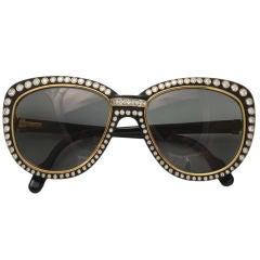 CARTIER PARIS 18KT Gold Sunglasses with 188 Diamonds