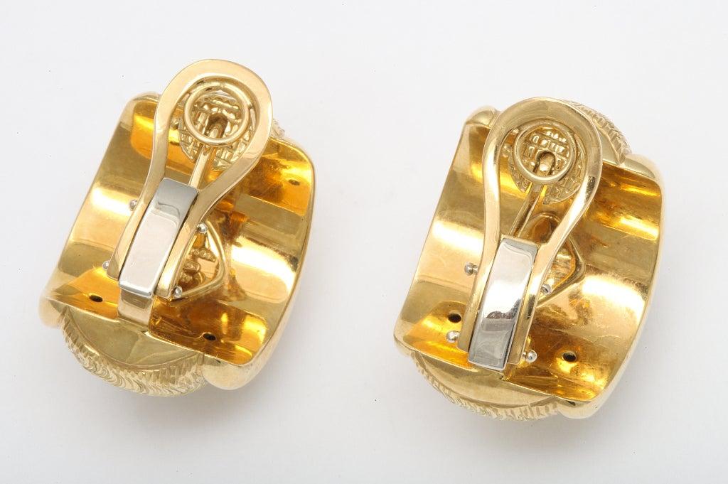 TIFFANY & CO. Gold Ear Clips 2