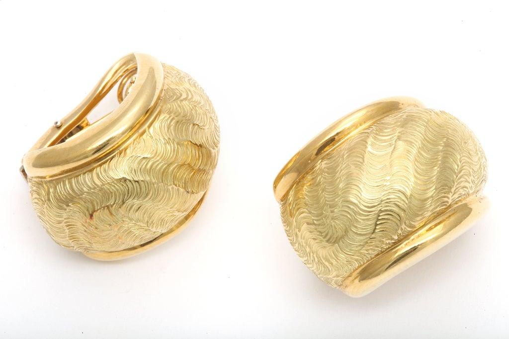 TIFFANY & CO. Gold Ear Clips 4