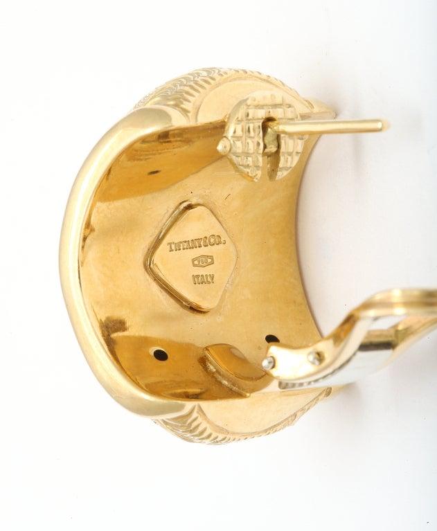 TIFFANY & CO. Gold Ear Clips 5