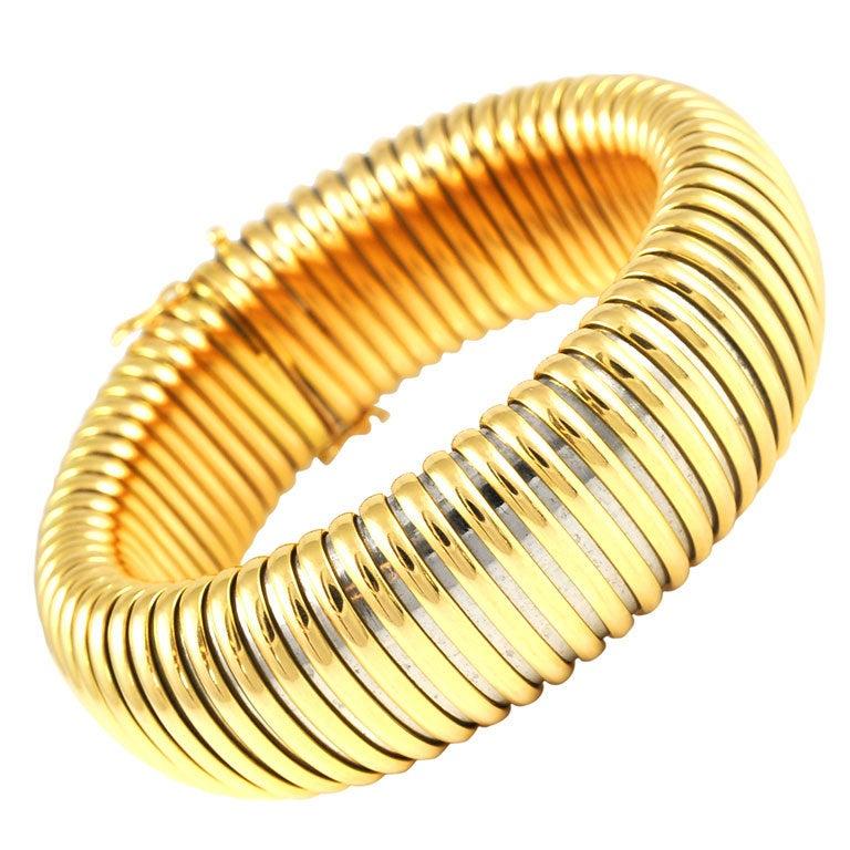 Flexible Yellow Gold Ring