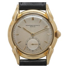 Vacheron & Constantin Yellow Gold Large Dress Wristwatch circa 1950s