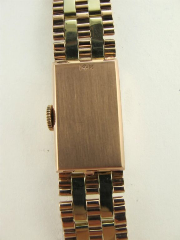 Lucien Piccard 14K 2 tone Pink & Green gold circa 1940's For Sale 1