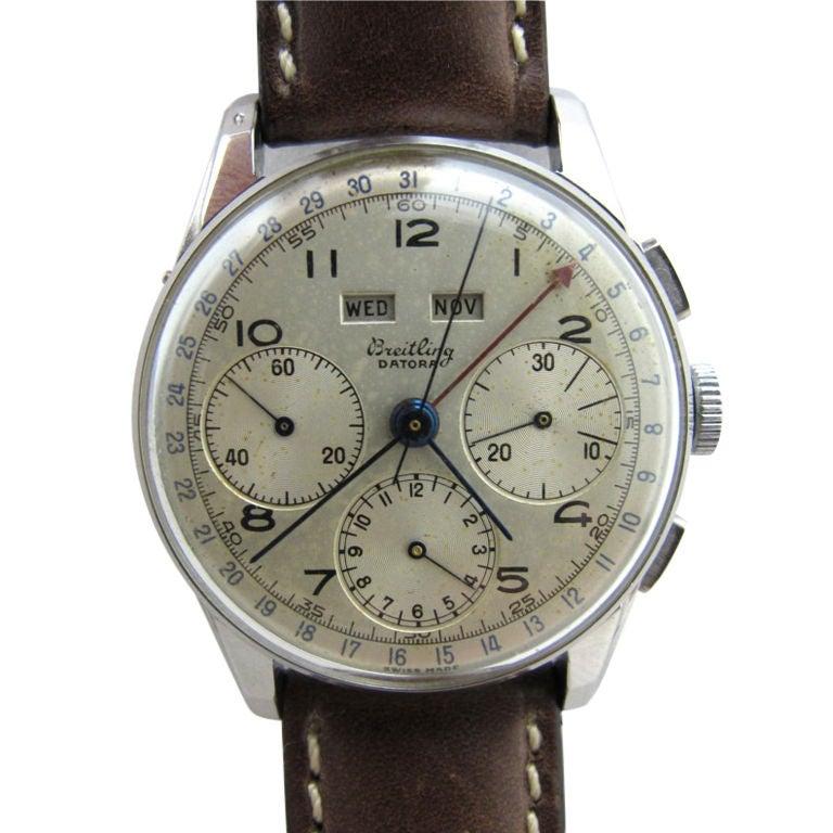 Breitling Datora Triple-Date Chronograph c. 1965