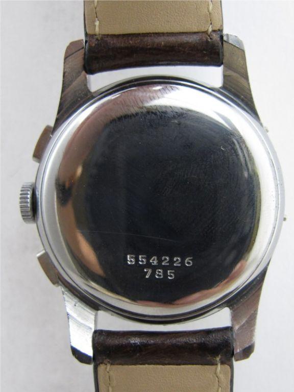 Women's or Men's Breitling Datora Triple-Date Chronograph c. 1965