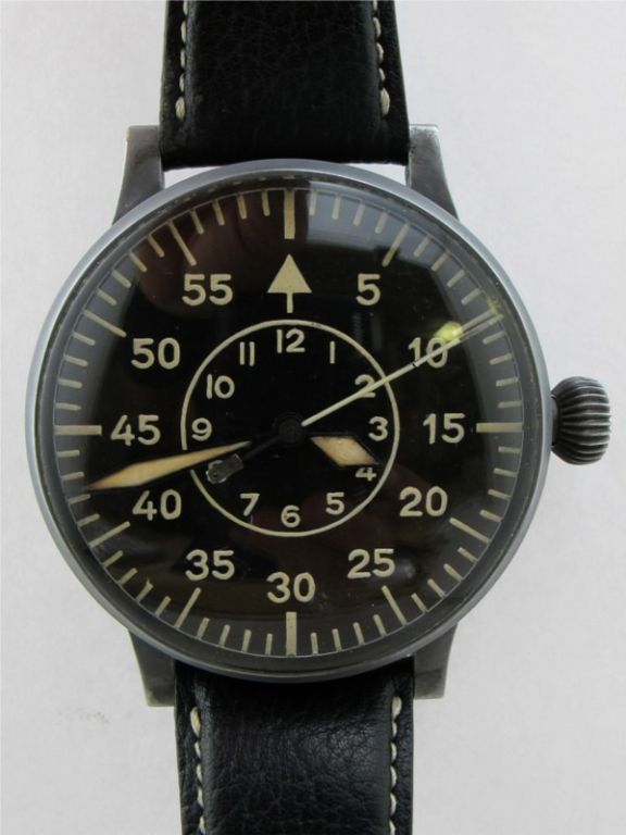 Laco (Lacher & Co) Type 2 dial B-Uhr German WWII Luftwaffe image 2