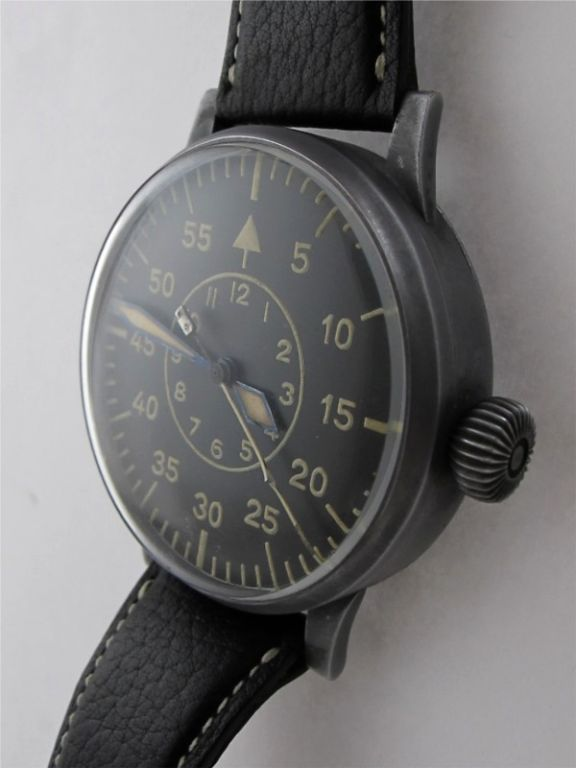 Laco (Lacher & Co) Type 2 dial B-Uhr German WWII Luftwaffe image 3