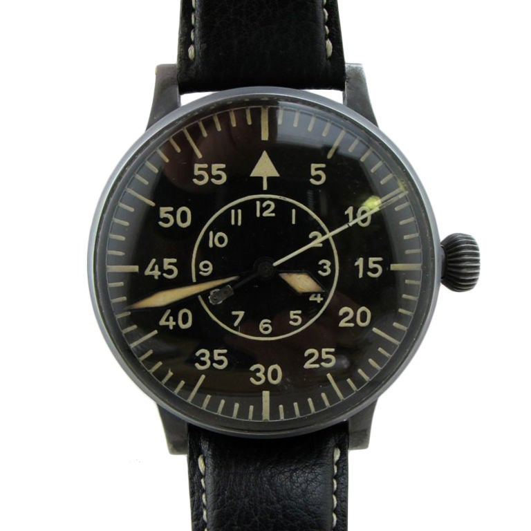 Laco (Lacher & Co) Type 2 dial B-Uhr German WWII Luftwaffe
