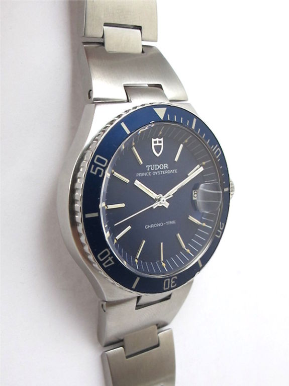 Tudor steel prince oysterdate chrono time diver watch c - Tudor dive watch ...