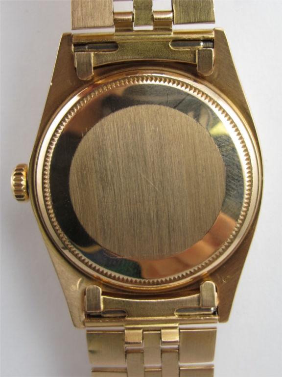 Rolex 18K Pink Gold Datejust ref 1601 circa 1962 For Sale 2