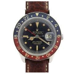 ROLEX Steel GMT Ref# 6542 Serial# 381,xxx circa 1958