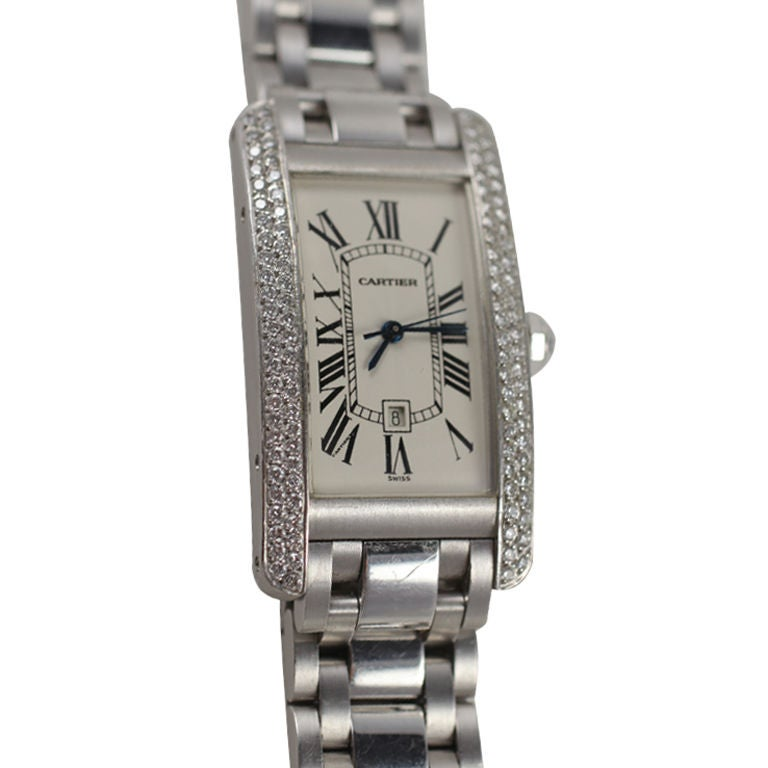 Cartier Tank Americaine at 1stdibs