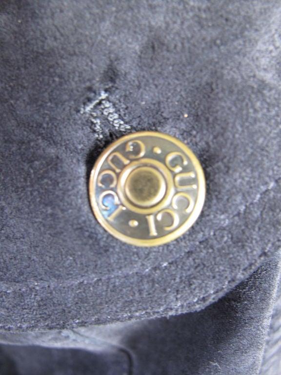 GUCCI Suede Jacket 2