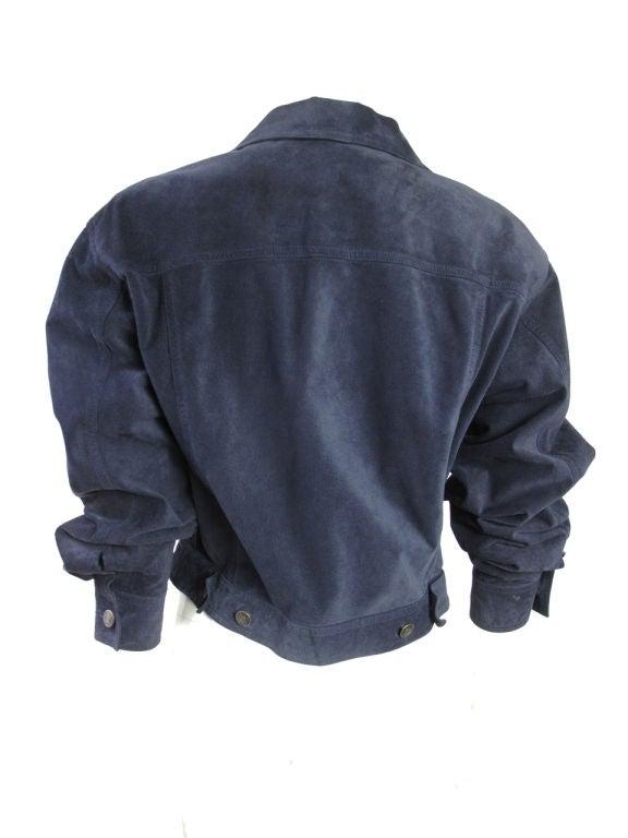GUCCI Suede Jacket 3