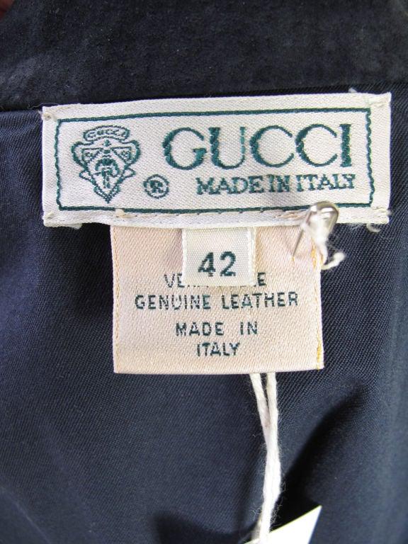 GUCCI Suede Jacket 4