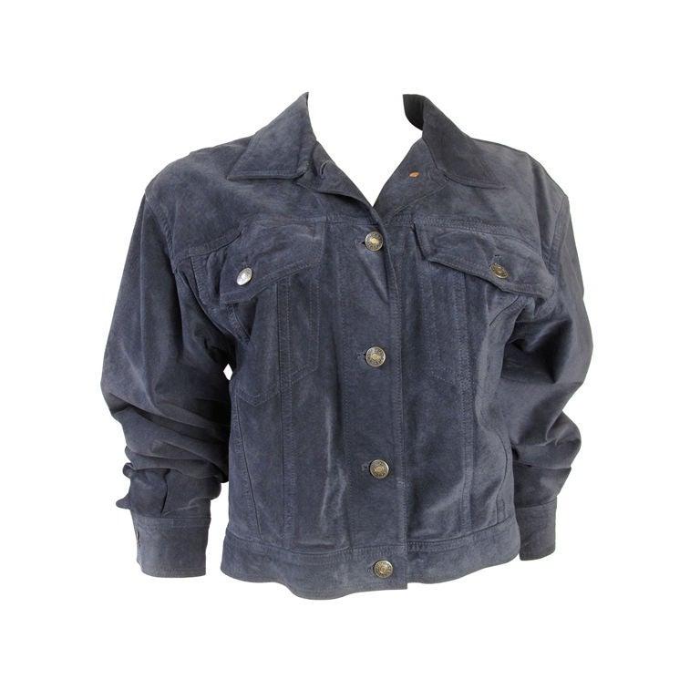 GUCCI Suede Jacket 1