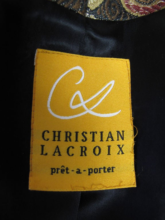 Christian Lacroix Embroidered Suit 6
