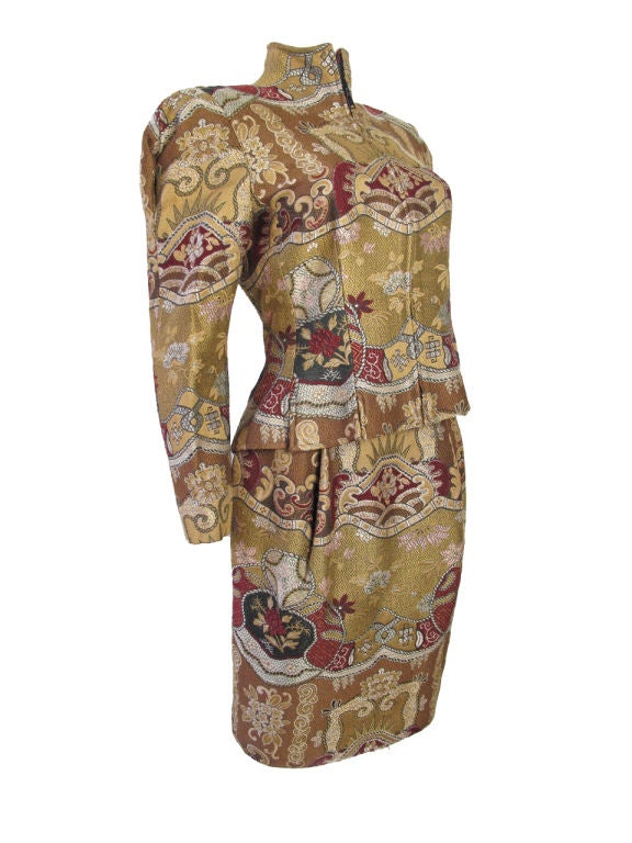Christian Lacroix Embroidered Suit 2