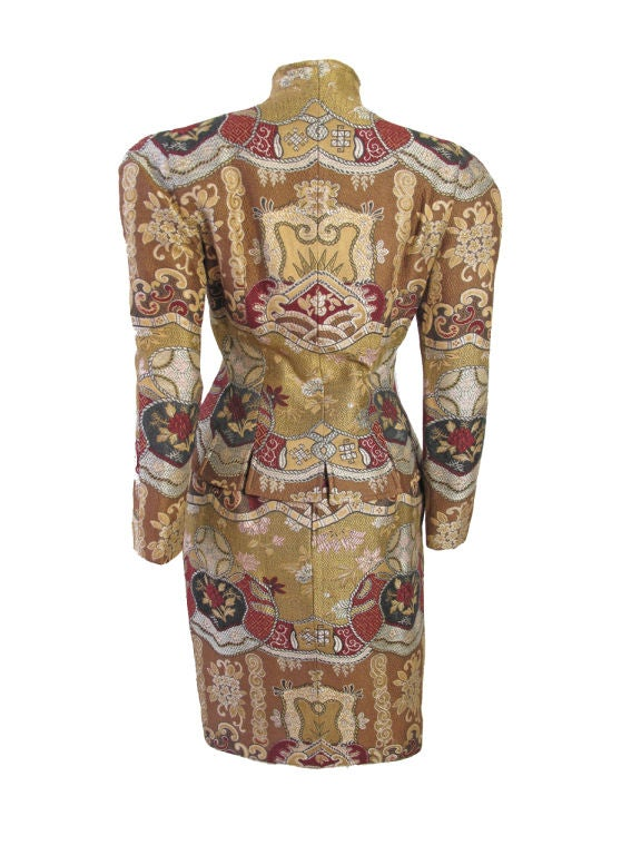 Christian Lacroix Embroidered Suit 3
