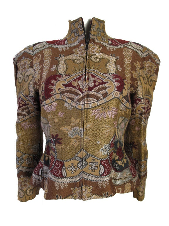 Christian Lacroix Embroidered Suit 5