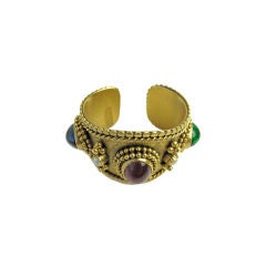 Yves Saint Laurent Late 70s Numbered Cuff