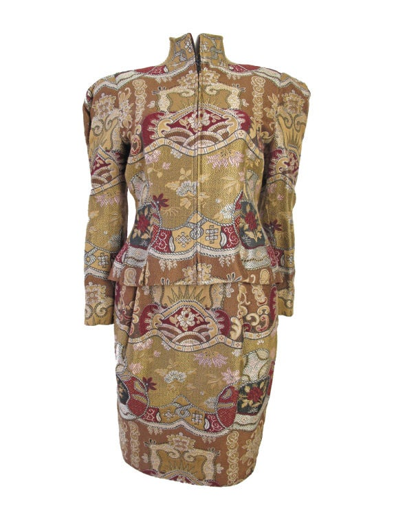 Christian Lacroix Embroidered Suit 7