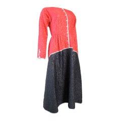 Geoffrey Beene Two Tone Dress Sale