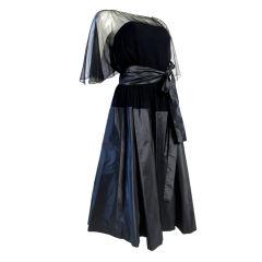 Werle Chiffon Cocktail Dress