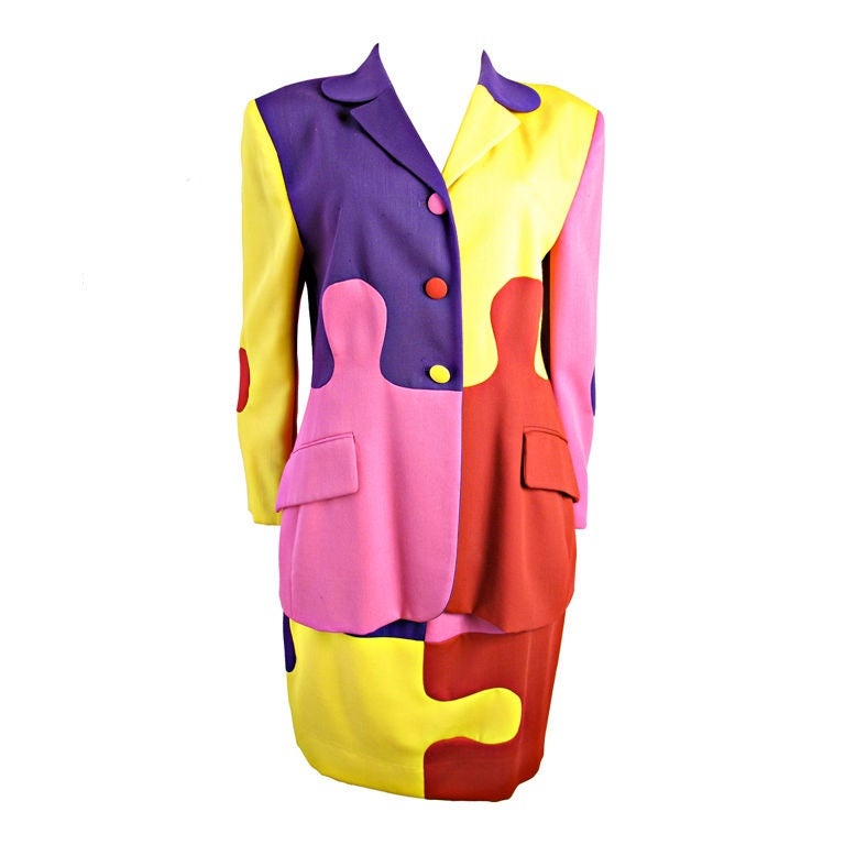 MOSCHINO Puzzle Suit